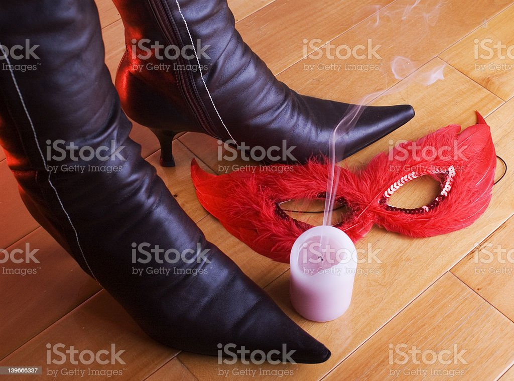 mask still life royalty-free stock photo