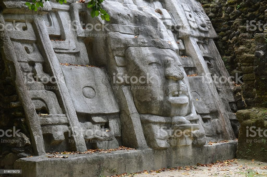 Mask Temple royalty-free stock photo