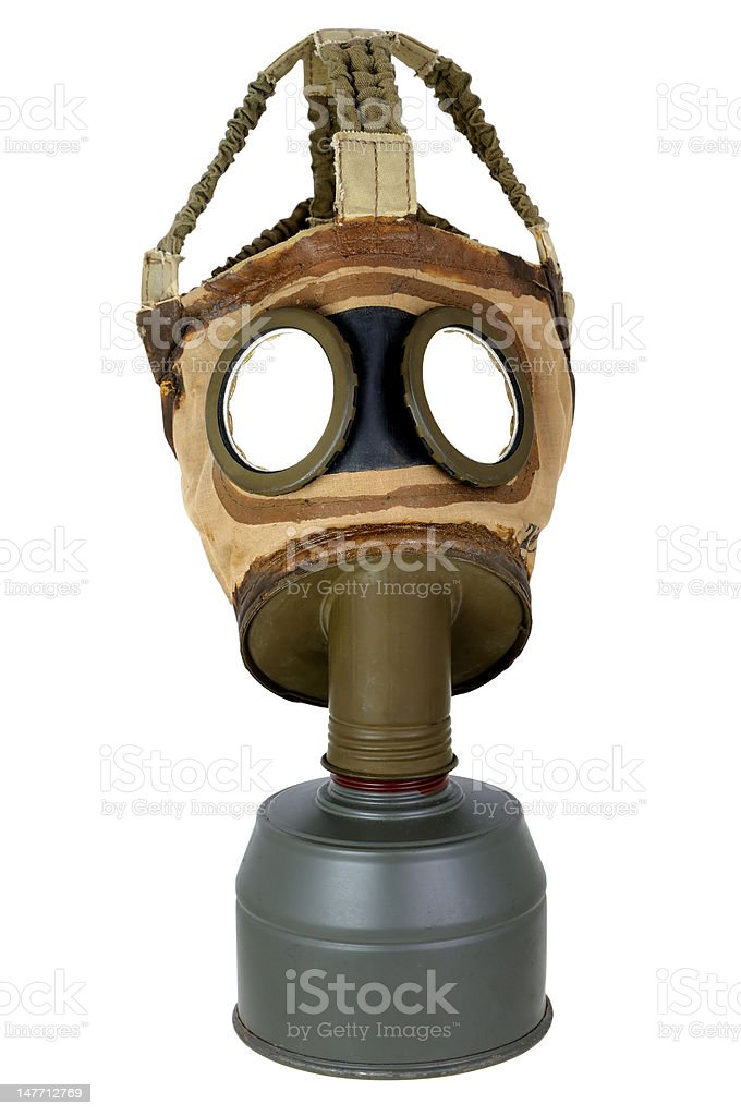 Mask two royalty-free stock photo