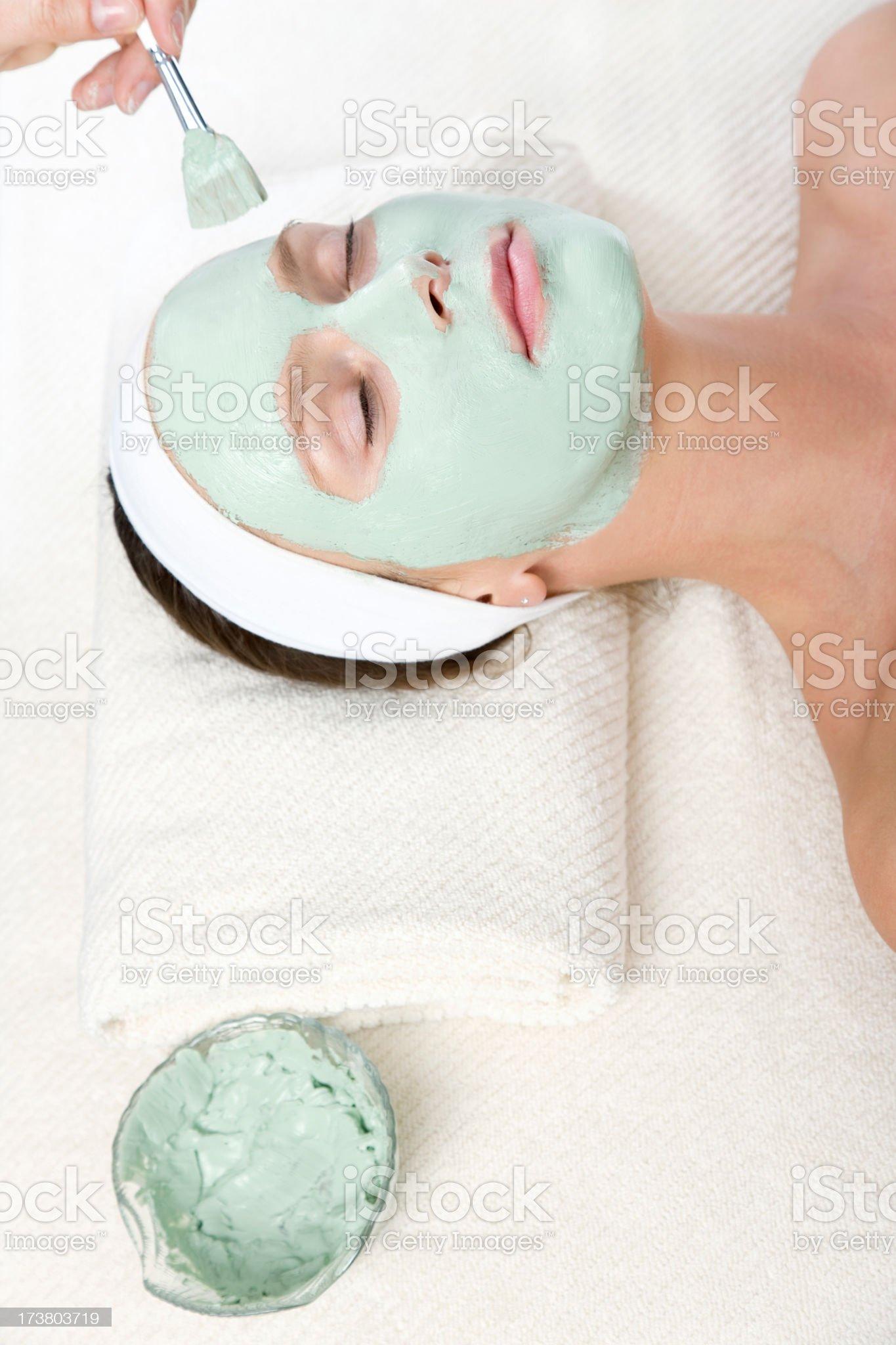 mask woman royalty-free stock photo