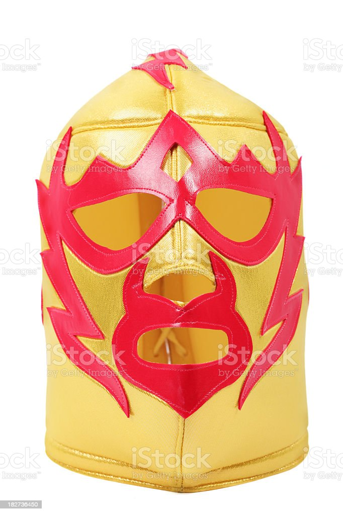 Lucha Libre mask stock photo