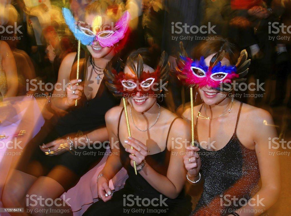 masked ball stock photo