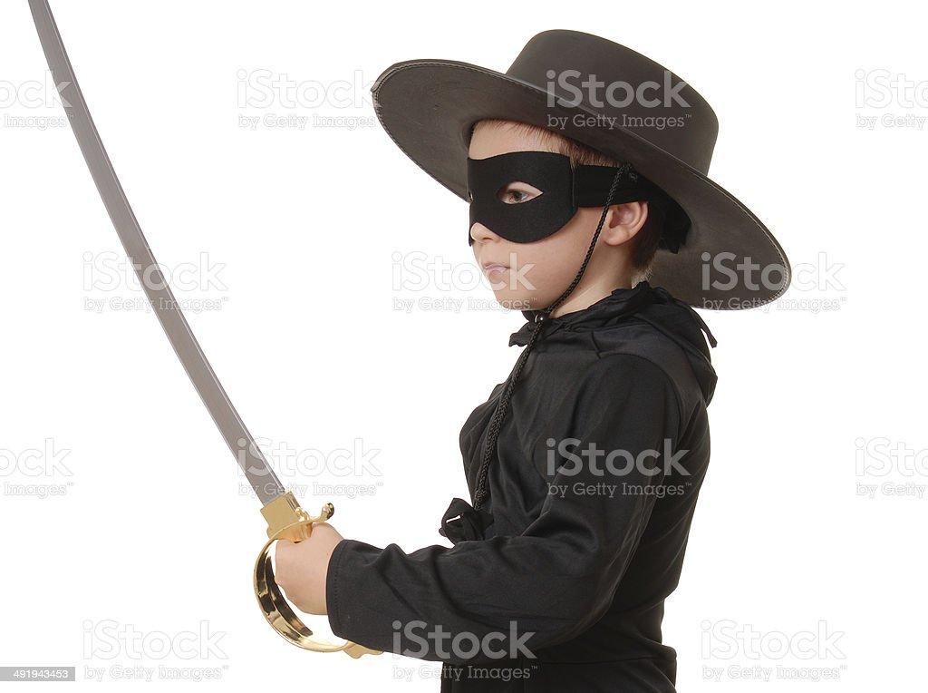 Masked Boy royalty-free stock photo