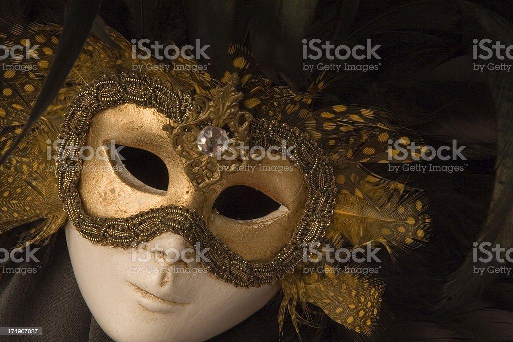 Masked Lady Dancer stock photo