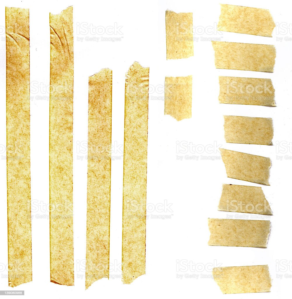 masking tape; great for collage and grunge stock photo