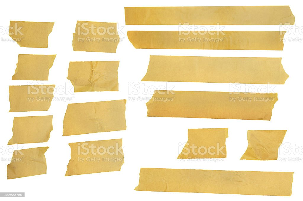 Masking tape, great for collage. stock photo
