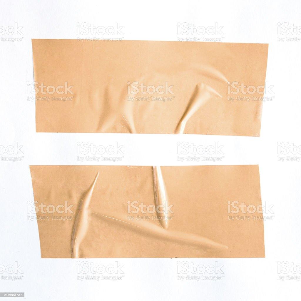 Masking Tape  on isolated white background stock photo