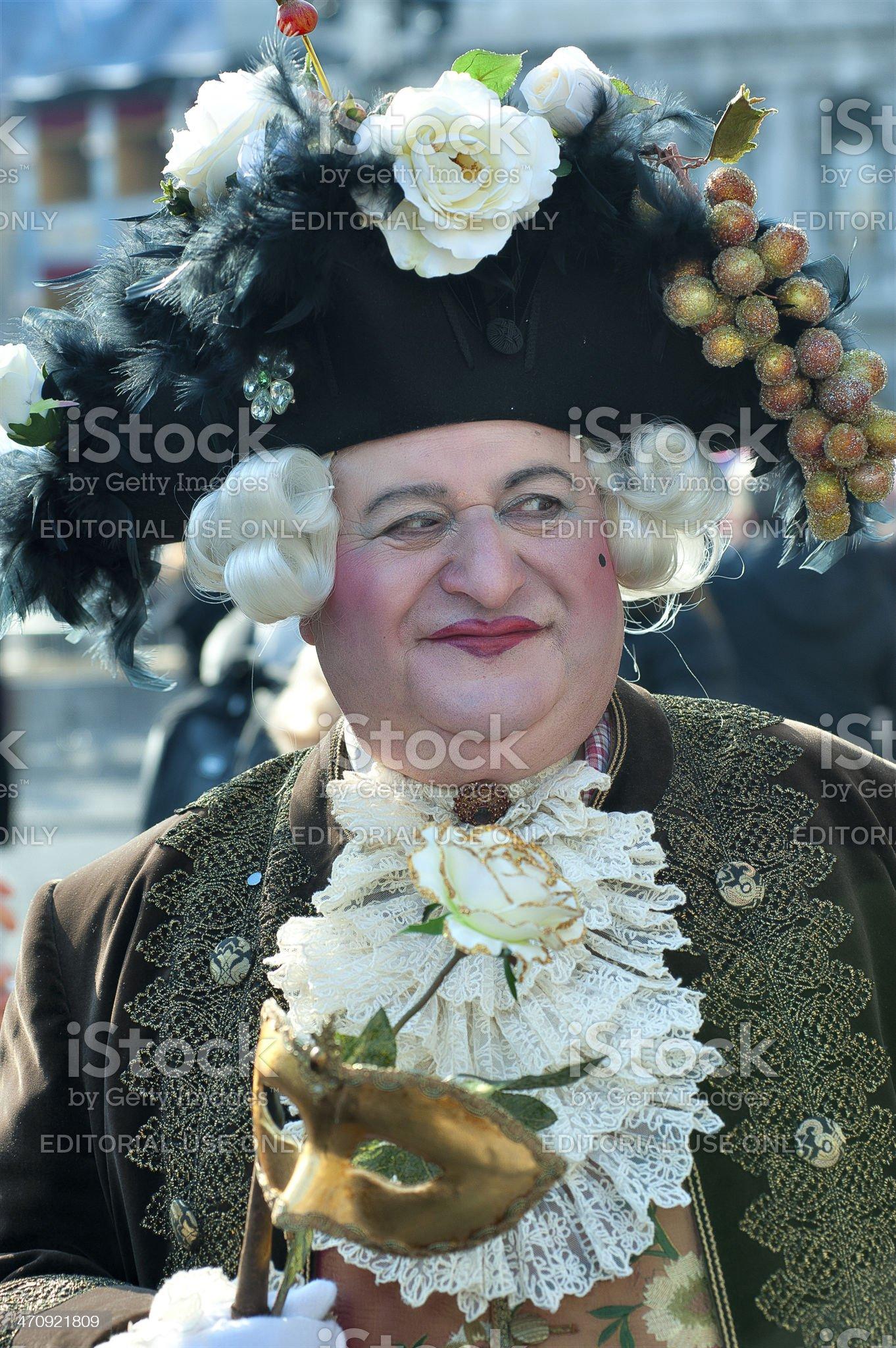 masks of venice carnival royalty-free stock photo