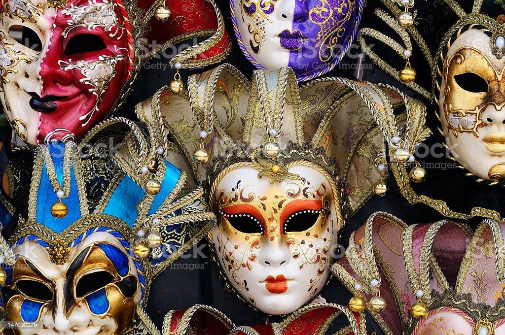 Masks royalty-free stock photo