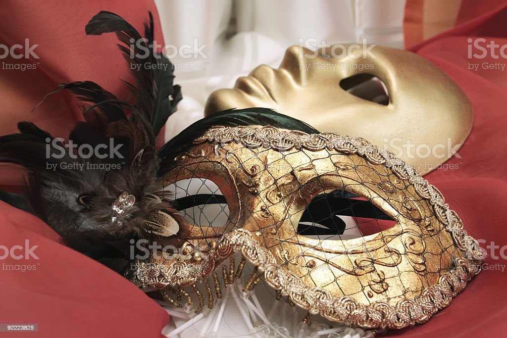 masks royalty-free stock photo