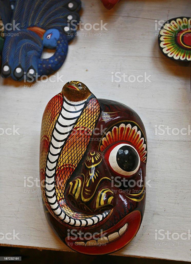 masks sri lanka royalty-free stock photo