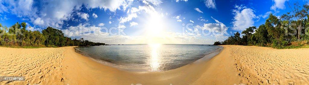 Masoala beach stock photo