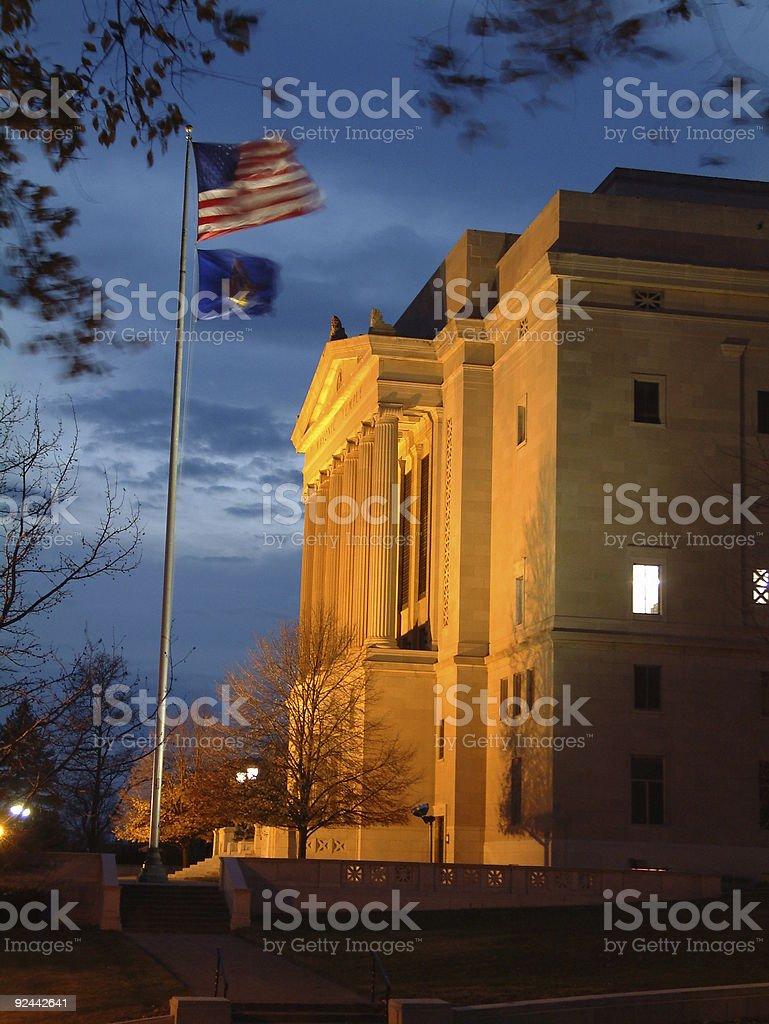 Masonic Temple Dayton Ohio Freemasons royalty-free stock photo