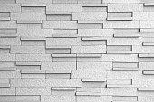 Masonry Block Wall Background Black and White