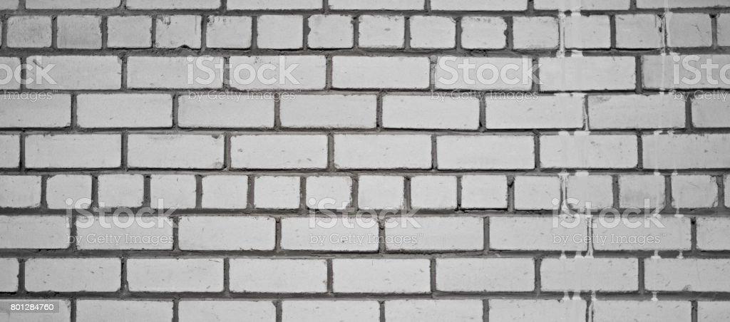 Masonry made of sand-lime bricks stock photo