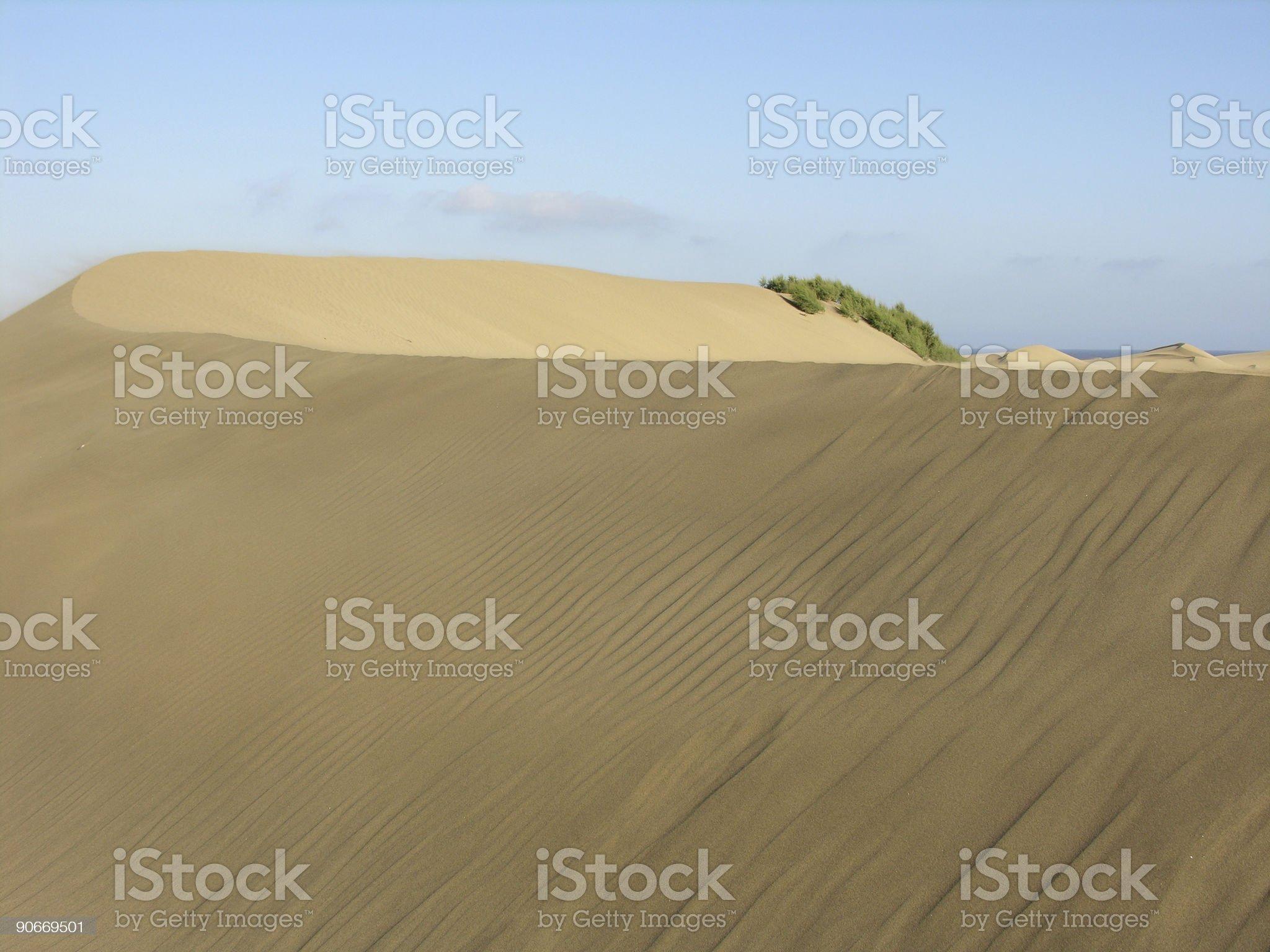 Maspalomas Dunes royalty-free stock photo