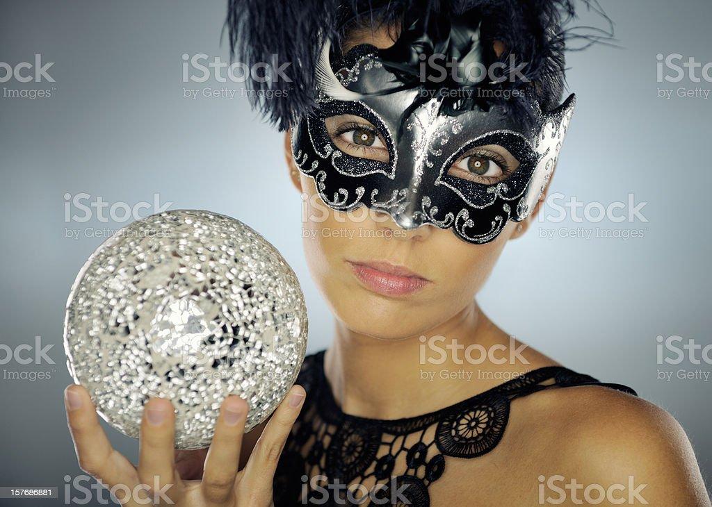 Masquerade Ball, Beauty Portrait (XXXL) royalty-free stock photo