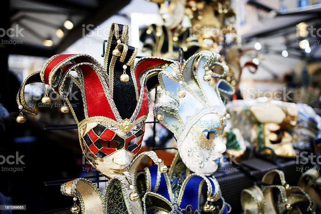 Masquerade Mask. Color Image royalty-free stock photo