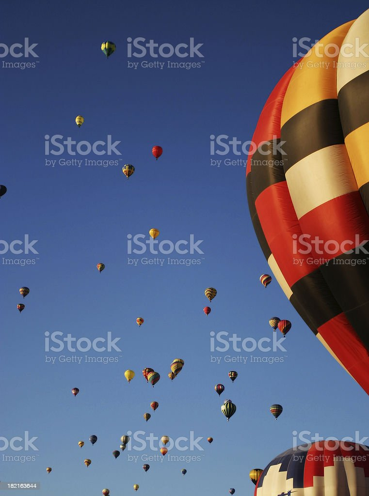 Mass Ascension 1 royalty-free stock photo