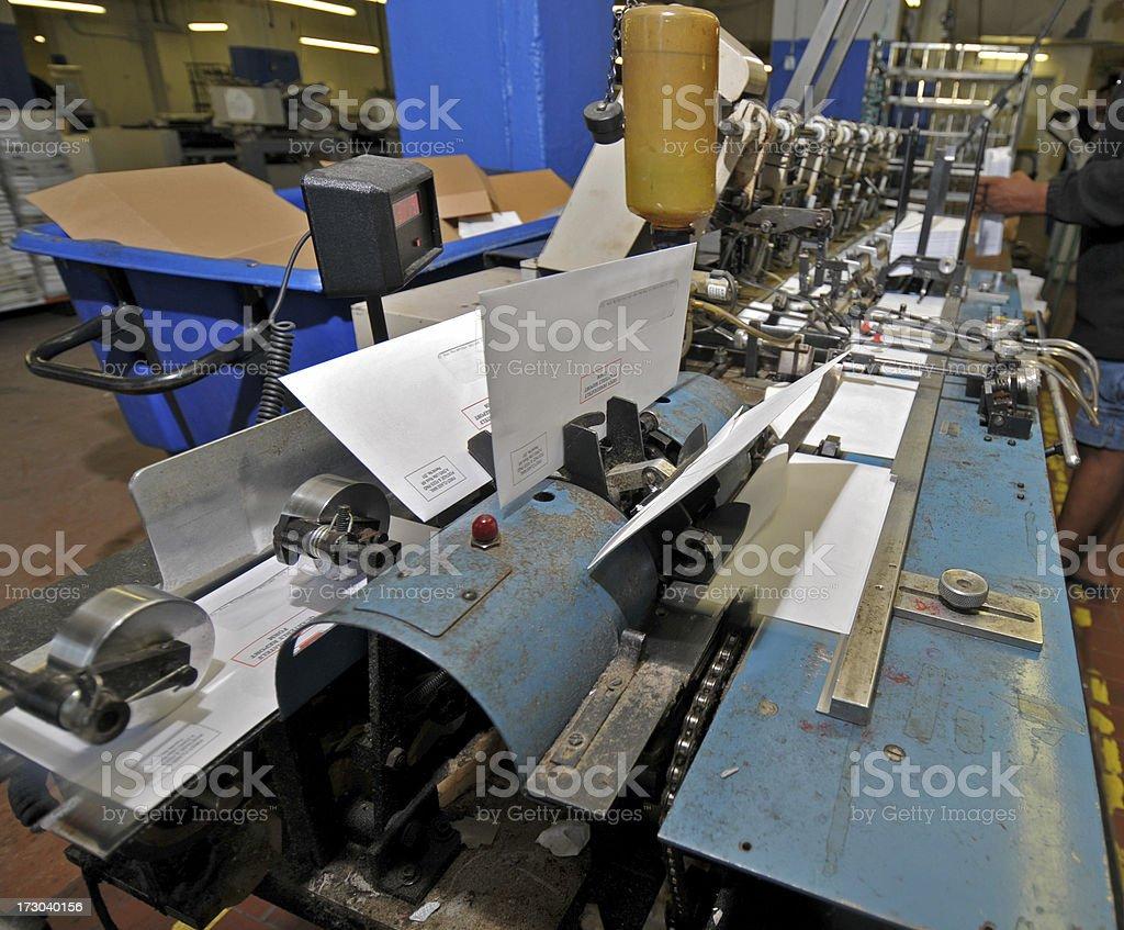 Mass Mail Operation royalty-free stock photo