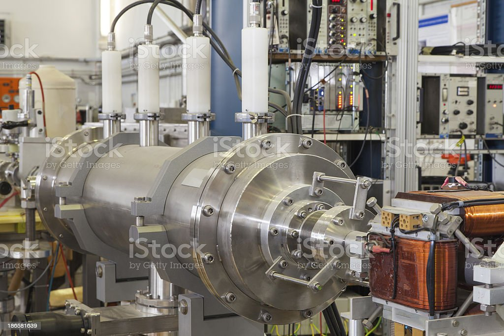 Mass spectrometer in nuclear lab royalty-free stock photo