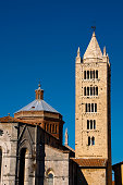 Massa Marittima is an old town in center Italy
