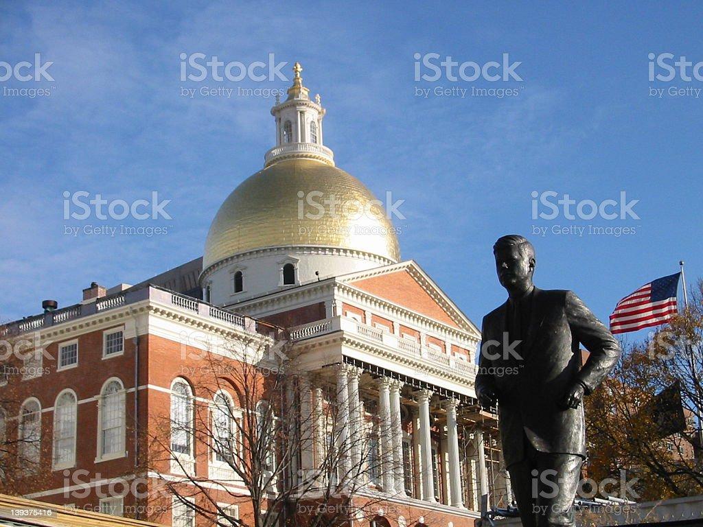 Massachuesetts state Capital stock photo