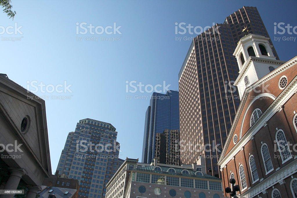 USA - Massachusetts - Boston, Faneuil Hall stock photo