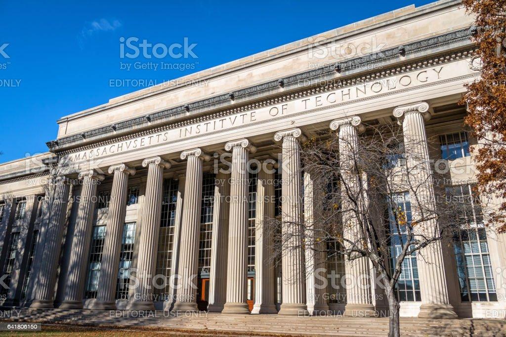 Massachusetts Institute of Technology (MIT) - Cambridge, Massachusetts, USA stock photo