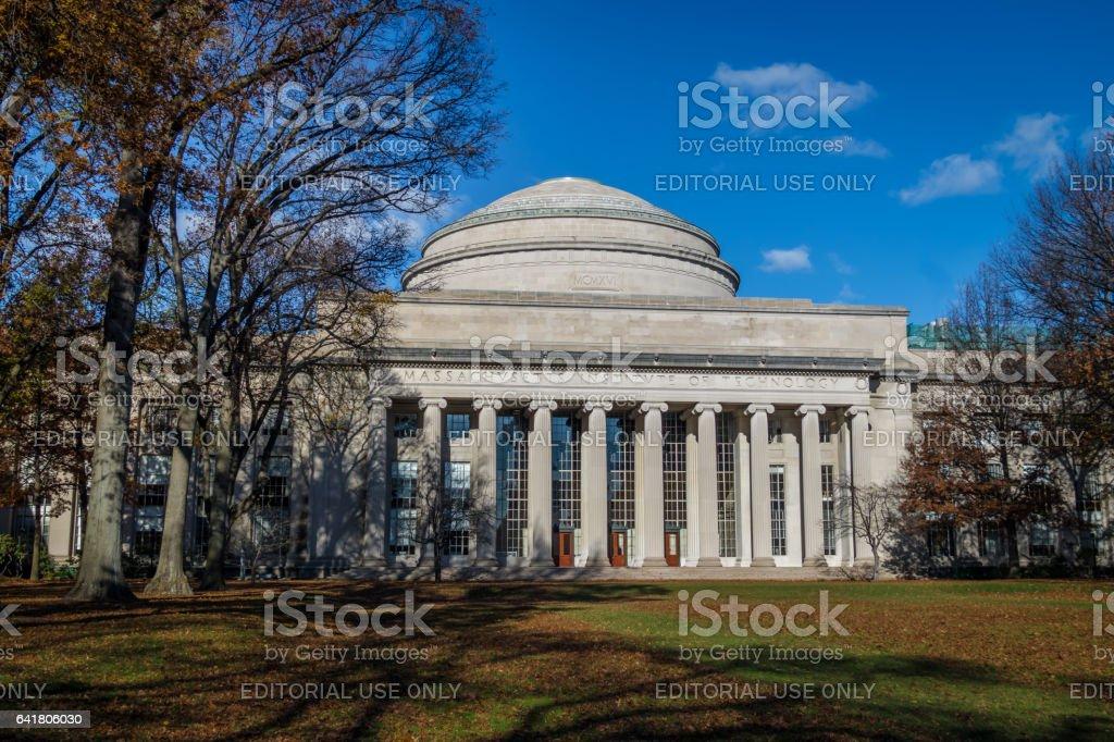 Massachusetts Institute of Technology (MIT) Dome - Cambridge, Massachusetts, USA stock photo