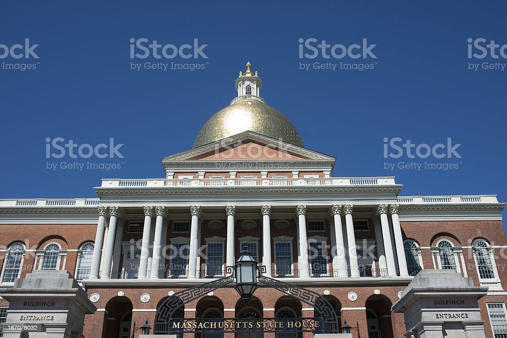 Massachusetts State Building stock photo
