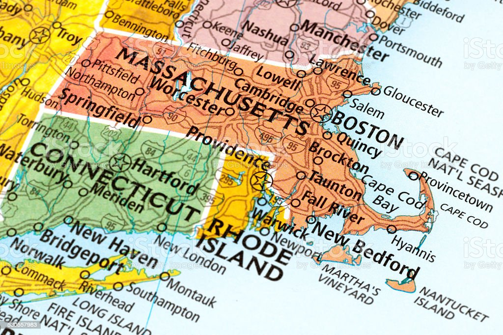 Massachusetts State stock photo