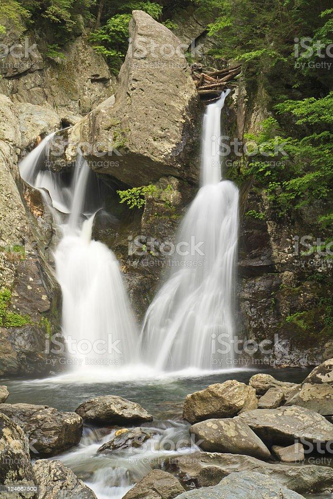 Massachusetts Waterfall royalty-free stock photo