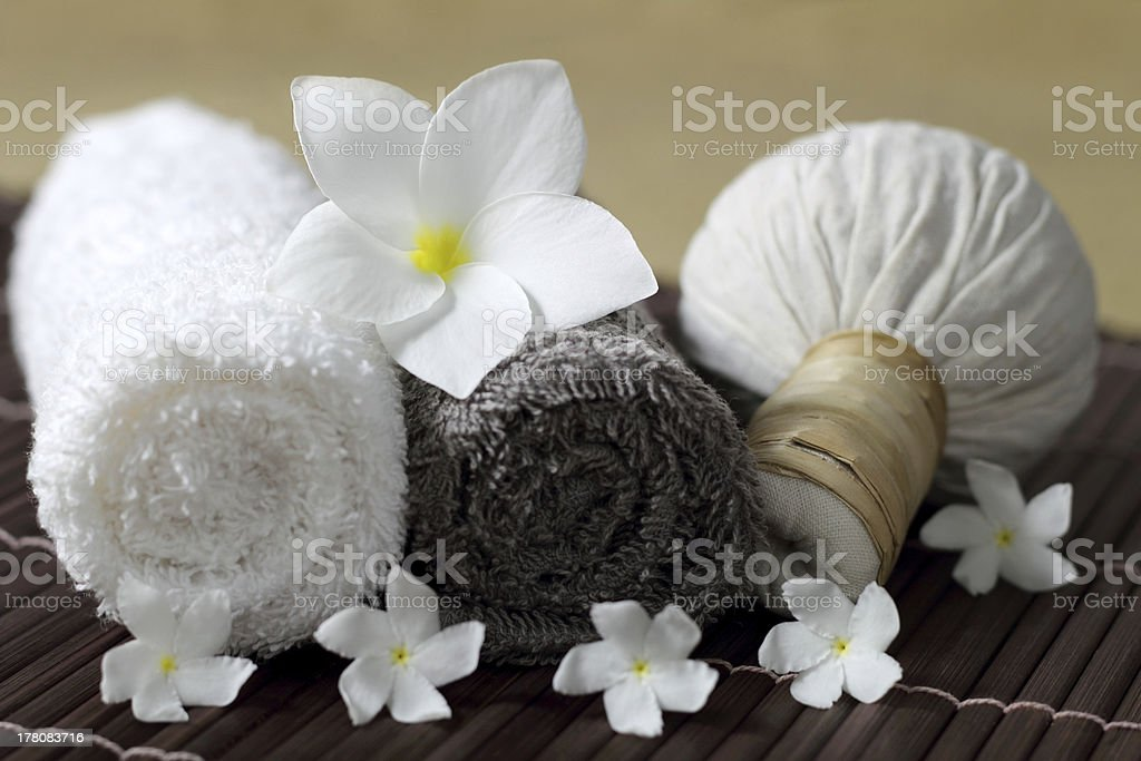 Massage and spa. royalty-free stock photo