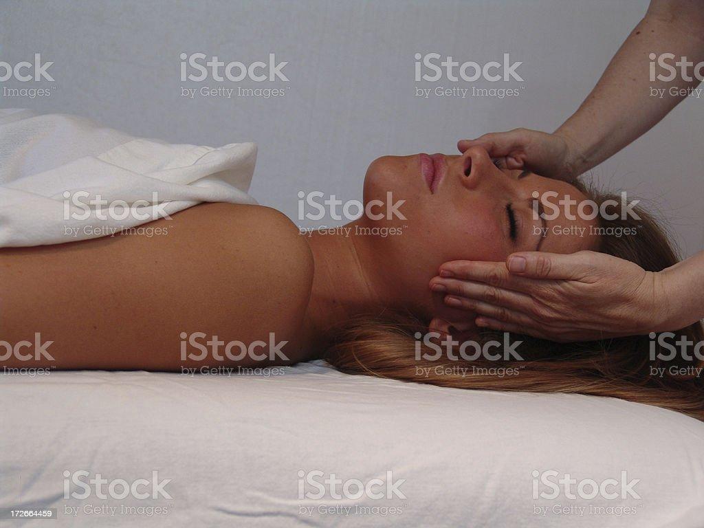 massage and spa treatment royalty-free stock photo
