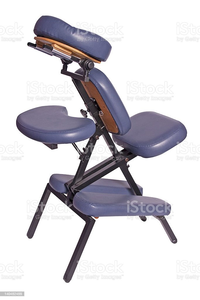 massage chair royalty-free stock photo