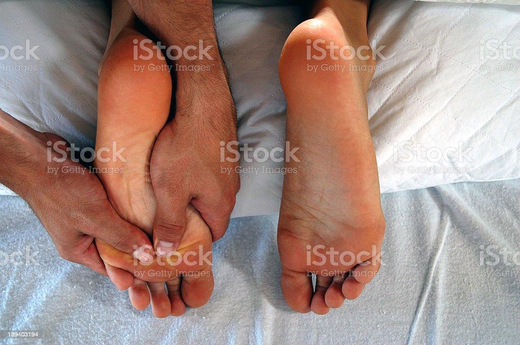 Massage - Feet royalty-free stock photo