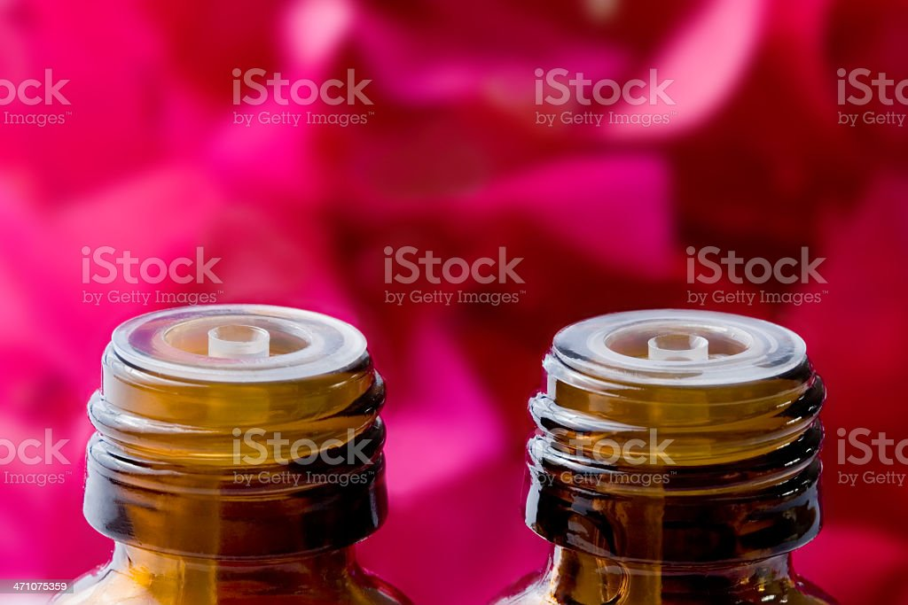 Massage for two stock photo