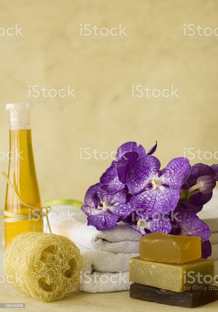 massage oil royalty-free stock photo