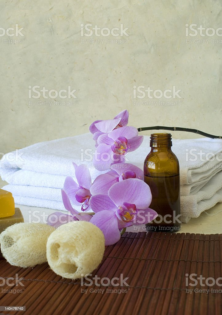 massage oil royalty-free stock photo