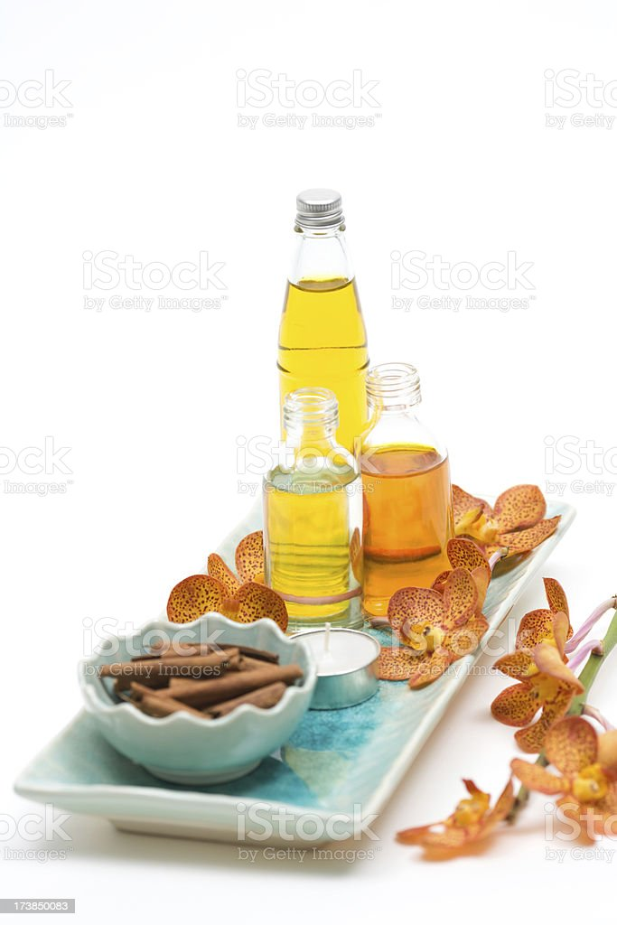Massage Oils stock photo