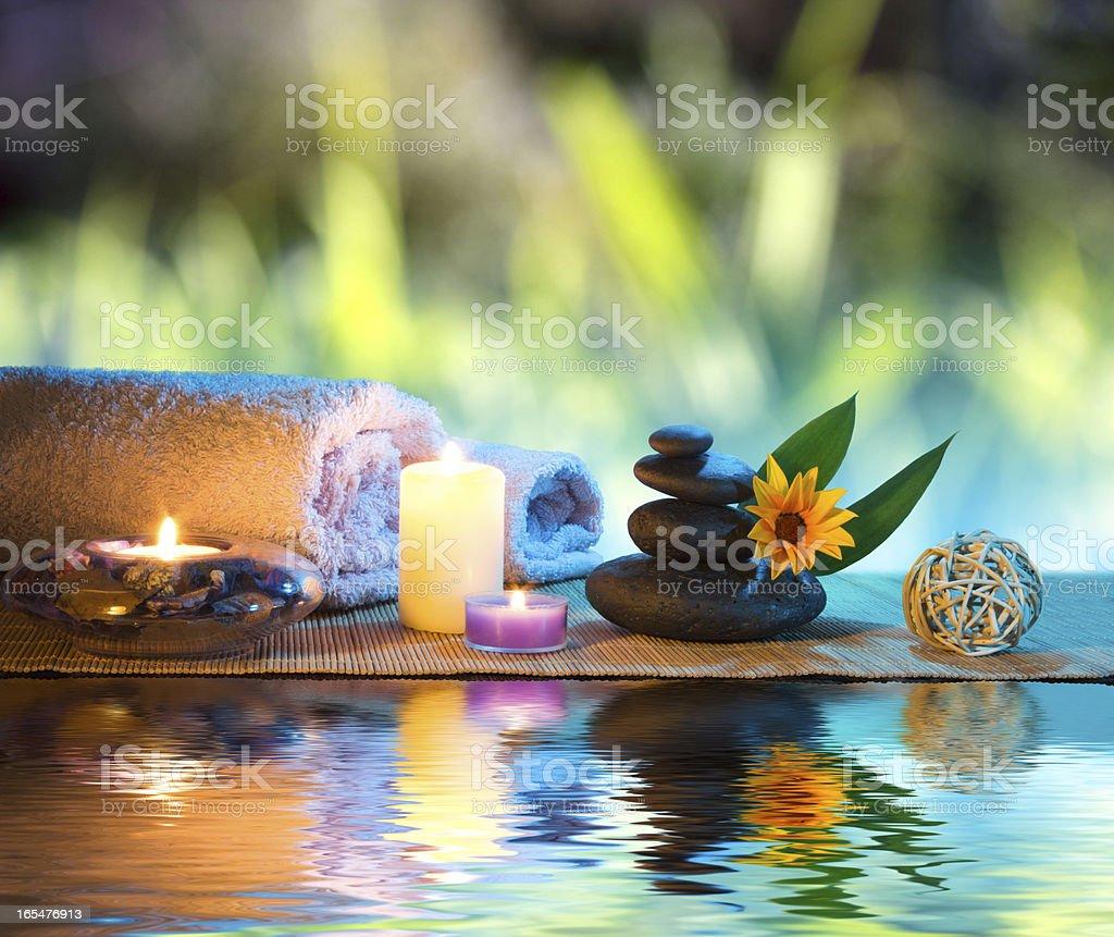 massage on water royalty-free stock photo