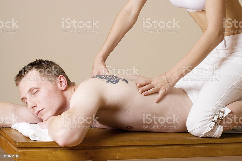 massage #5 stock photo