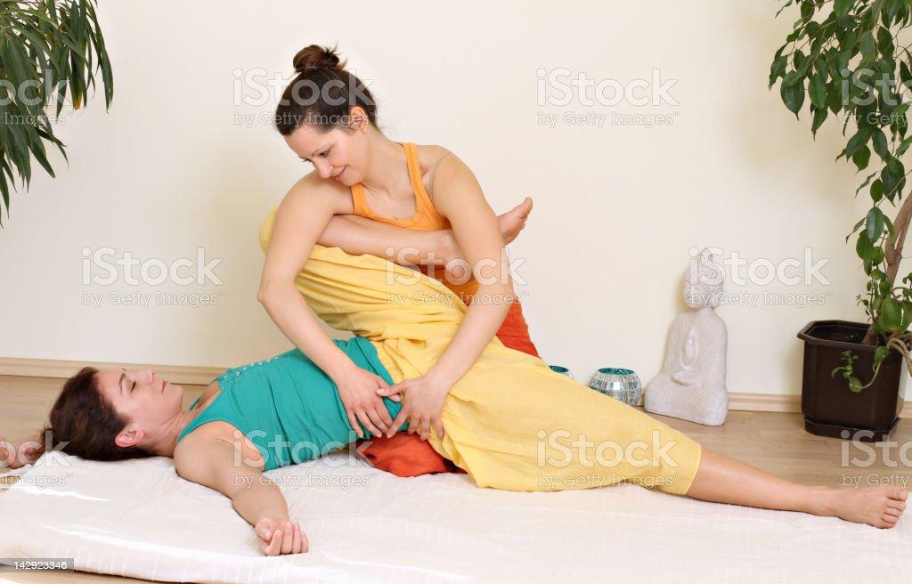 Massage royalty-free stock photo