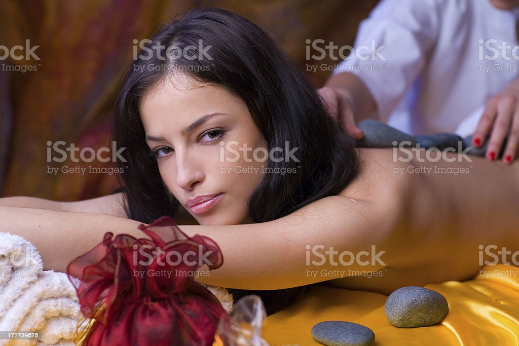 Massage royalty-free stock photo