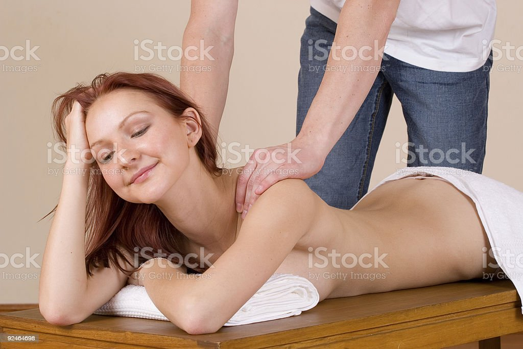 massage #30 royalty-free stock photo