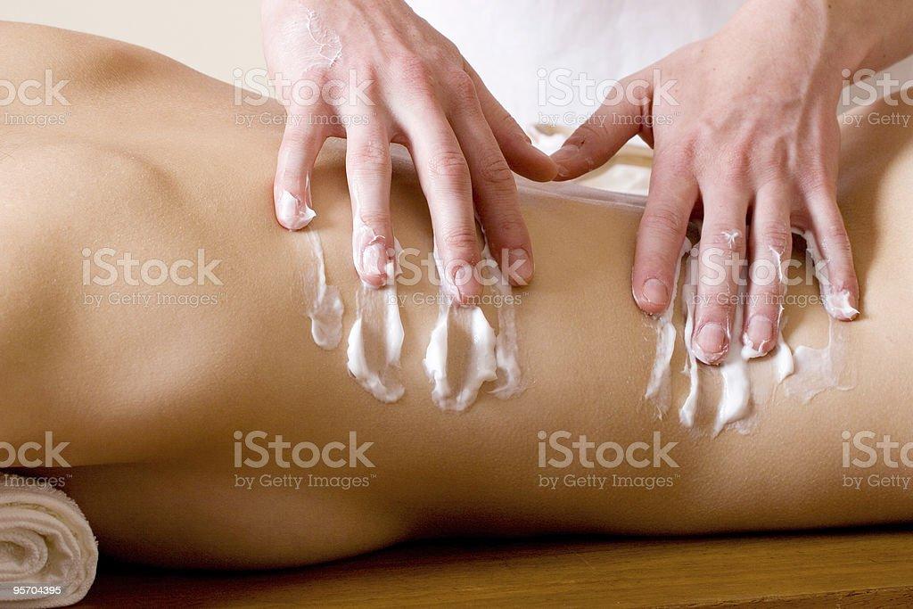 massage #20 royalty-free stock photo
