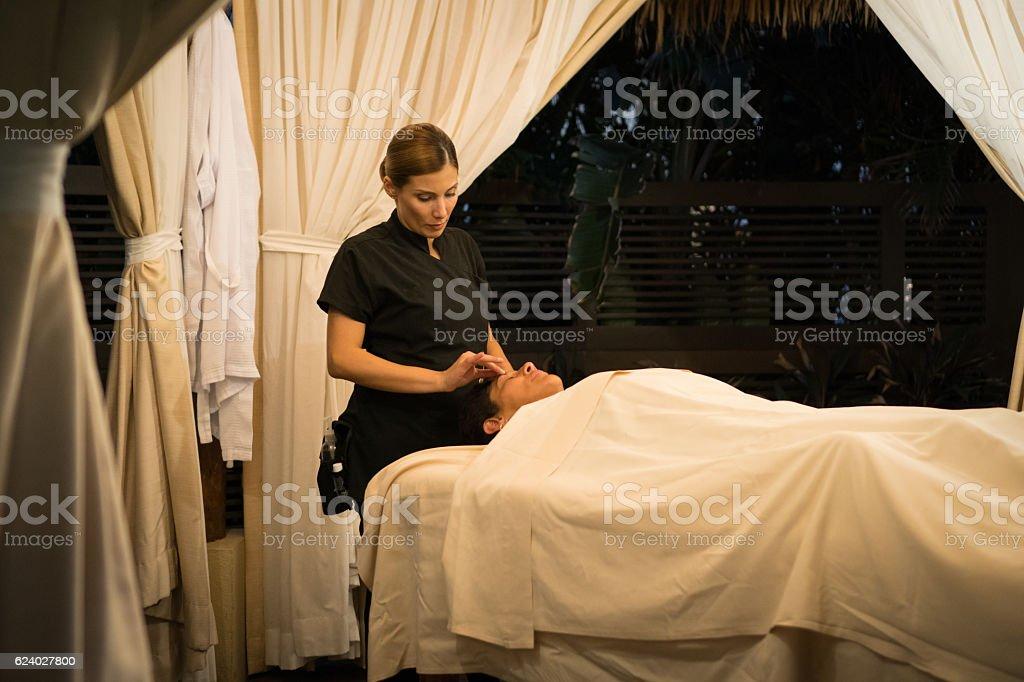 Massage - Professional stock photo