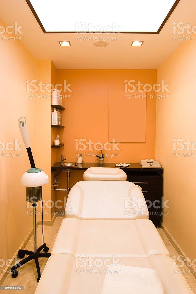 massage salon stock photo