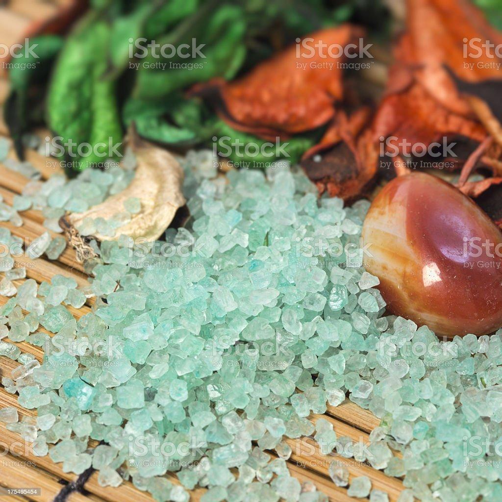Massage Salt royalty-free stock photo